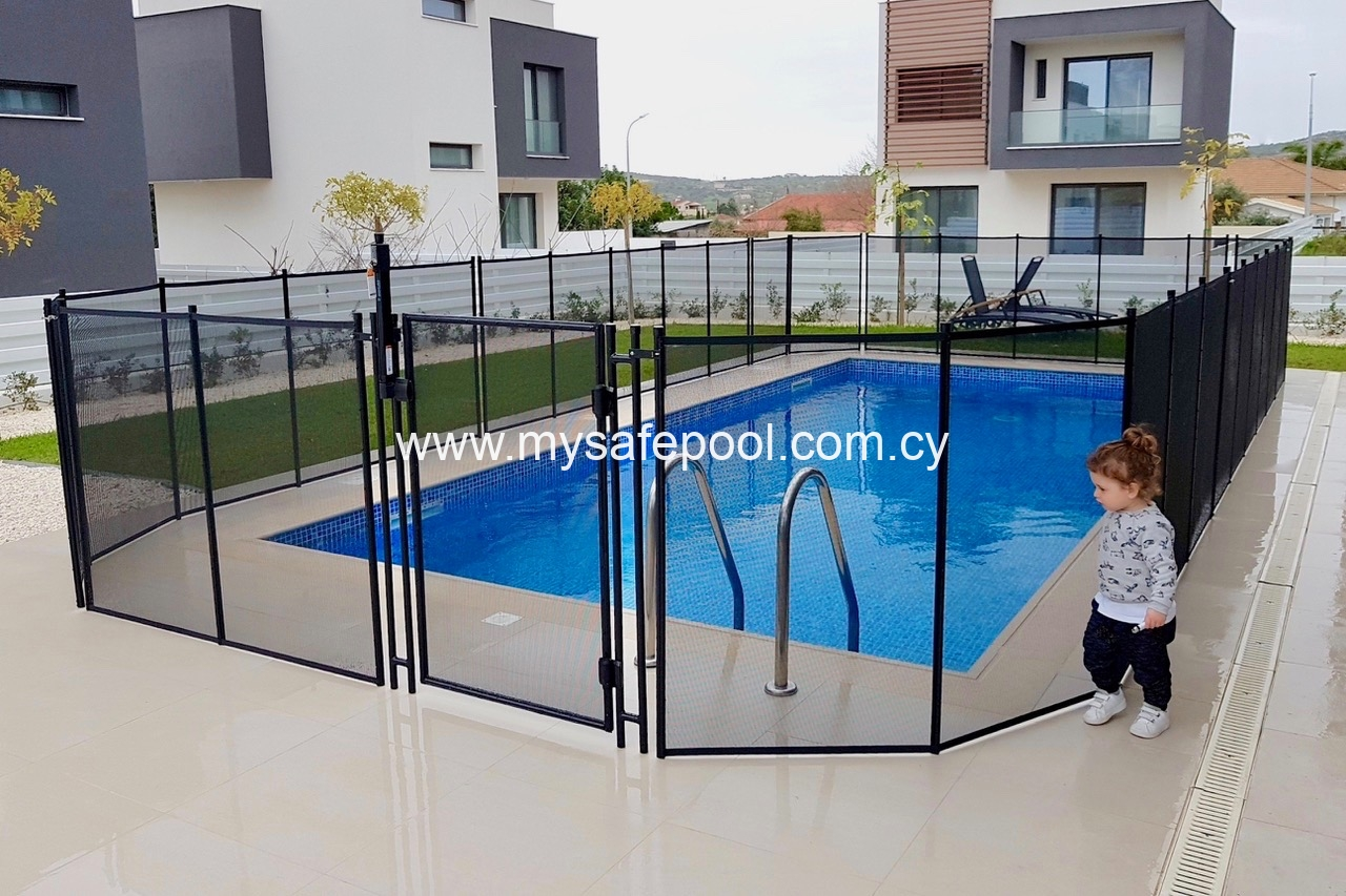 Elite Pool Safety Fence Cyprus Swimming Pool Safety Fences Safety