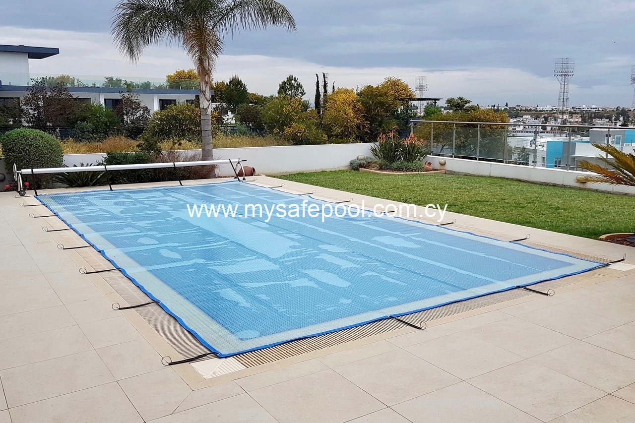 Solar Covers   Cyprus swimming pool safety fences, safety nets, and ...